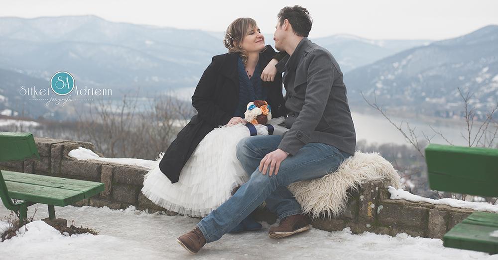 Divatba jön a téli esküvő?