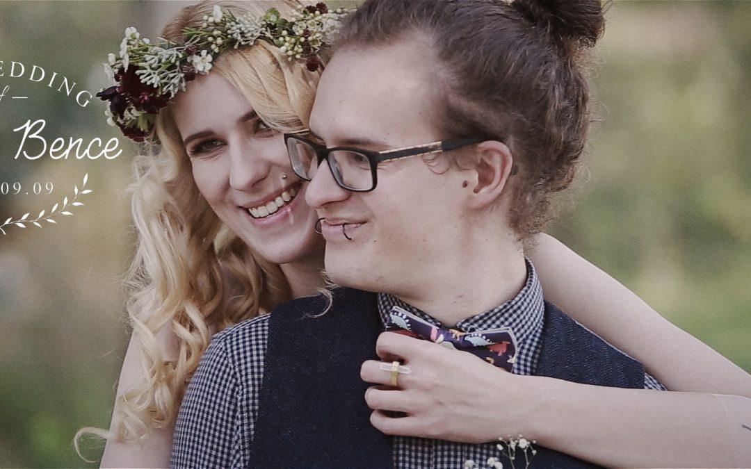 Nóri és Bence bohém esküvője