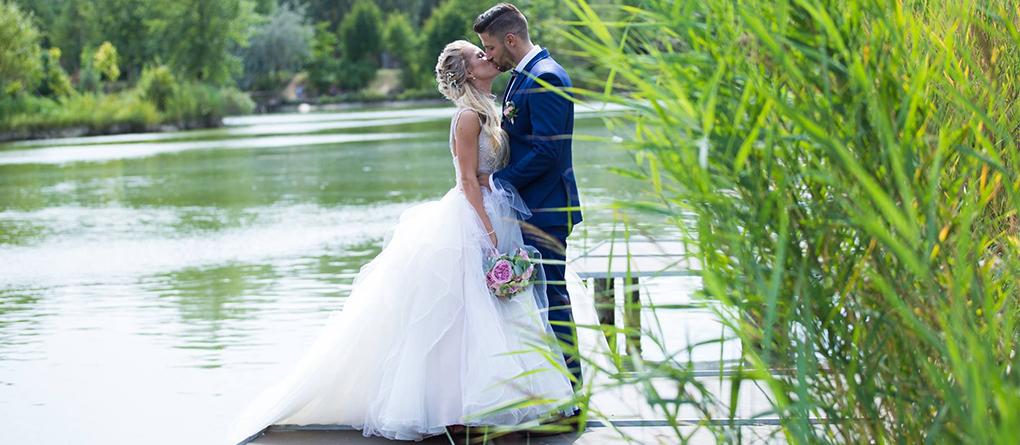 Esküvő a Lóga-tónál