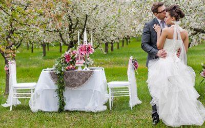 Szabadtéri esküvő – mire figyelj, ha kültéri esküvőt szeretnél