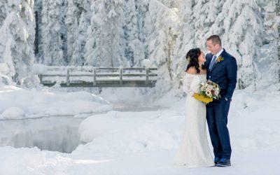 Így lehet igazán emlékezetes a téli esküvőd
