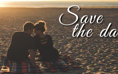 SAVE THE DATE – avagy tudasd időben a vendégeitekkel a nagy hírt